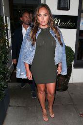 Tamara Ecclestone at Madeo Restaurant in Beverly Hills 08/16/2018