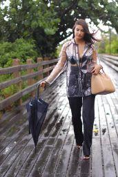 Tao Wickrath Rainy Day Outfit - Miami 08/25/2018