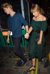 Taylor Swift and Joe Alwyn at Hawksmoor Steak Restaurant in London 08/24/2018