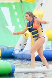 Teddi Mellencamp - Newport Beach Wellness Week Family Day at the Newport Dunes Waterpark