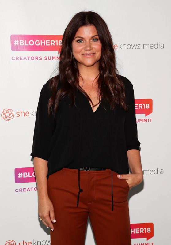 Tiffani Thiessen – #Blogher Creators Summit in NY 08/08/2018
