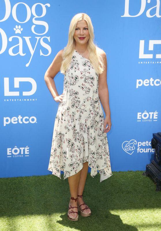 "Tori Spelling – ""Dog Days"" Premiere in Century City"