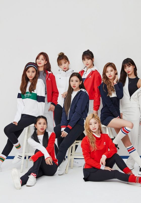 Twice - Beanpole Sport FW Collection 2018