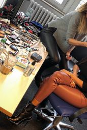 Verona Pooth - Personal Pics, August 2018