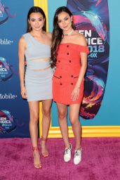 Veronica Merrell and Vanessa Merrell – Teen Choice Awards 2018