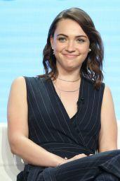 "Violett Beane - CBS ""God Friended Me"" TV Show Panel at TCA Summer Press Tour in LA"