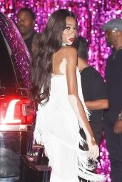 Winnie Harlow at Kylie Jenner