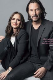Winona Ryder and Keanu Reeves - Who 09/10/2018