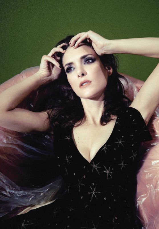 Winona Ryder - Psychologies September 2018