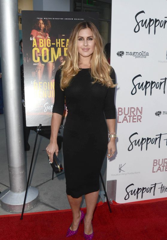 """Wrenn Woods – """"Support The Girls"""" Premiere in Los Angeles"""