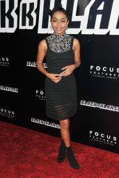 "Yara Shahidi – ""BlacKkKlansman"" Premiere in LA"