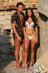 Yazmin Oukhellou - The Only Way Is Essex TV Show Photo Shoot in Sardinia 08/20/2018