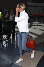 Yolanda Hadid - Departing on a Flight at LAX in LA 08/08/2018