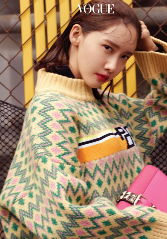 Yoona - VOGUE Korea (with Prada) August 2018