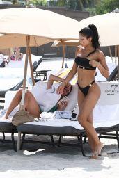 Yovanna Ventura in Bikini on the Beach in Miami 08/18/2018