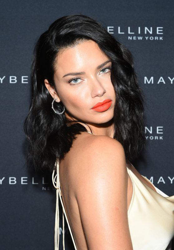 Adriana Lima - Maybelline x New York Fashion Week XIX Party