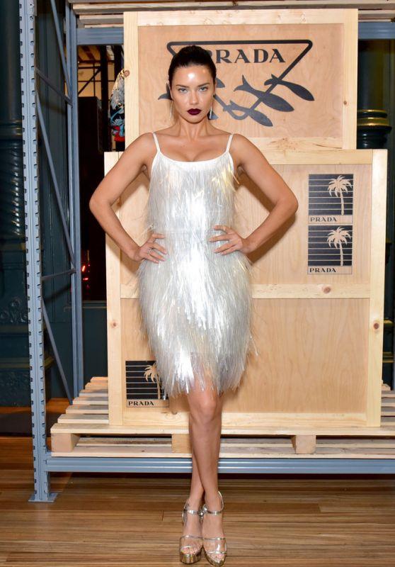 Adriana Lima – Prada Presents Prada Linea Rossa in NY 09/08/2018