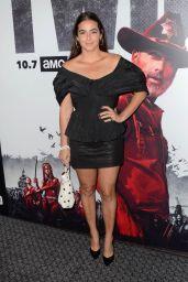 """Alanna Masterson – """"The Walking Dead"""" Season 9 Special Screening in LA"""