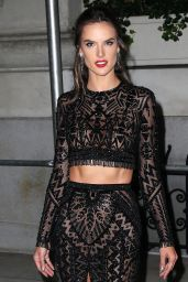 Alessandra Ambrosio – Outside Harper's Bazaar Icons Party in NYC 9/7/18