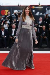 "Alessia Fabiani – ""The Sisters Brothers"" Red Carpet at Venice Film Festival"