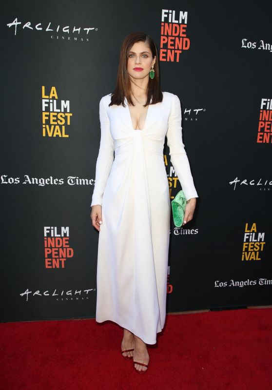 """Alexandra Daddario - """"We Have Always Lived In The Castle"""" Premiere at LAFF"""
