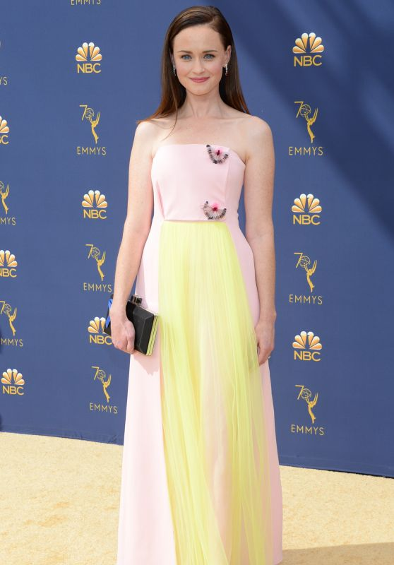 Alexis Bledel – 2018 Emmy Awards