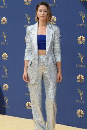 Amanda Crew – 2018 Emmy Awards