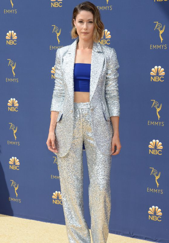 Amanda Crew – 2018 Emmy Awards