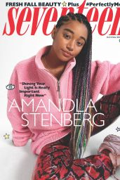 Amandla Stenberg - Seventeen Magazine October/November 2018