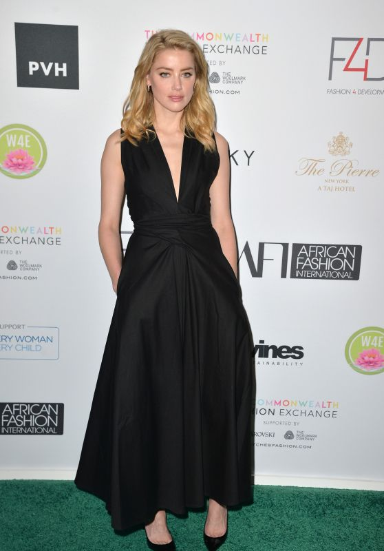 Amber Heard - F4D Annual First Ladies Luncheon in NY 09/25/2018
