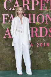 Amber Valletta – Green Carpet Fashion Awards in Milan 09/23/2018