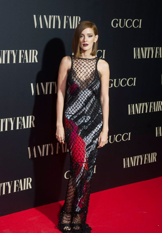 Ana Polvorosa - Vanity Fair Gala in Madrid, Spain 09/26/2018
