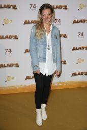 "Anais Delva – ""Alad'2"" Premiere in Paris"