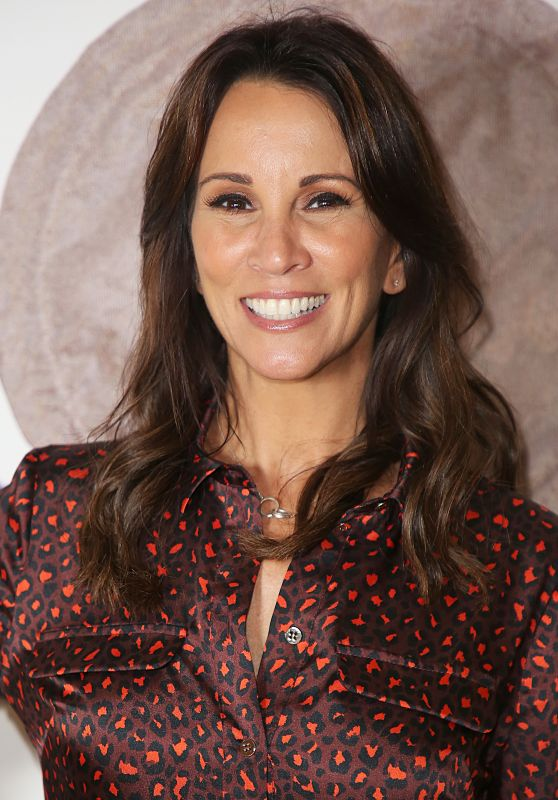 Andrea McLean - Donna May Make-Up - Launch Party in London 09/20/2018