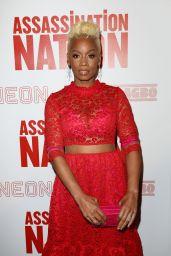 "Anika Noni Rose – ""Assassination Nation"" Screening in New York"