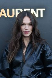 Anna Brewster – Saint Laurent Show, Paris Fashion Week 09/25/2018