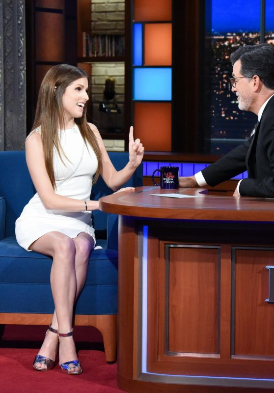Anna Kendrick - Late Show with Stephen Colbert 09/15/2018
