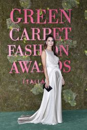 Anna Safroncik – Green Carpet Fashion Awards in Milan 09/23/2018