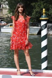Annabelle Belmondo at Hotel Excelsior in Venice 08/29/2018