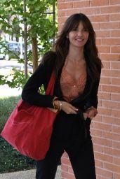 Annabelle Belmondo at Venice Airport 08/29/2018