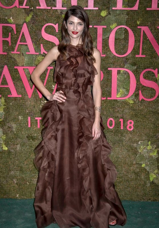 Annabelle Belmondo – Green Carpet Fashion Awards in Milan 09/23/2018