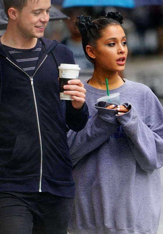 Ariana Grande - Enjoy Coffee in NYC 09/17/2018
