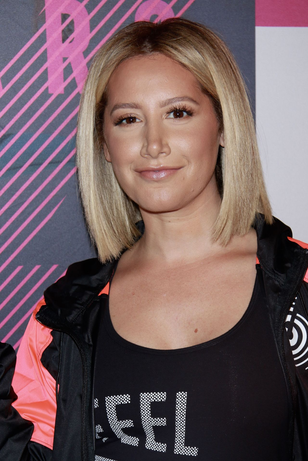 Ashley Tisdale Strong By Zumba Second Anniversary In Nyc