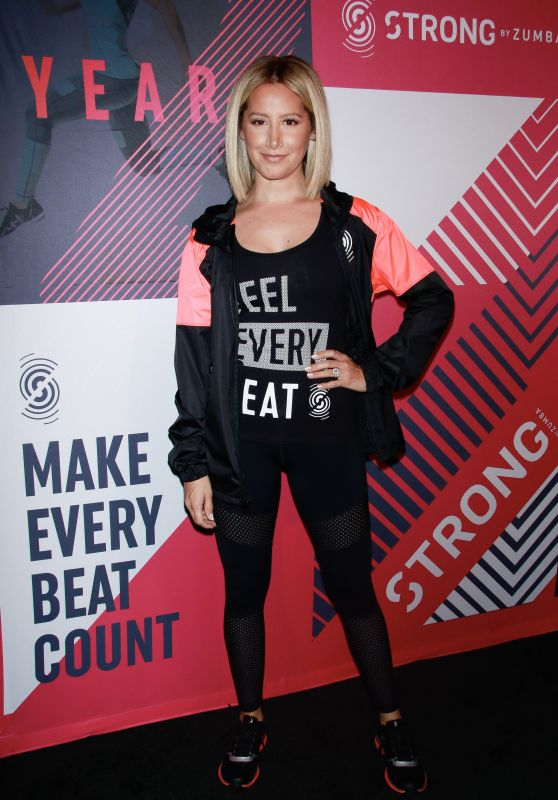 Ashley Tisdale – STRONG by Zumba Second Anniversary in NYC