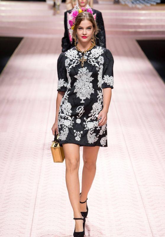 Barbara Palvin - Dolce & Gabbana Fashion Show in Milan 09/23/2018
