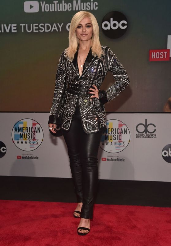 Bebe Rexha – 2018 American Music Awards Nominations Announcement in Los Angeles