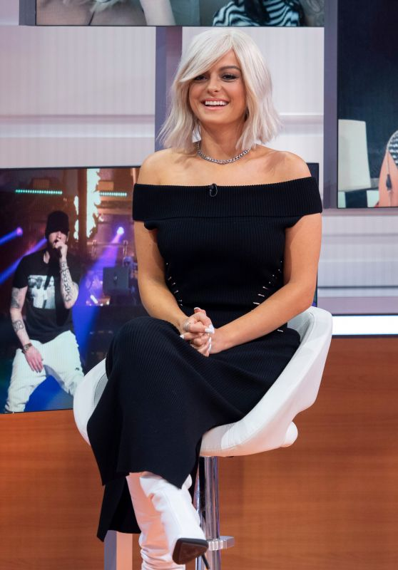 "Bebe Rexha - ""Good Morning Britain"" TV Show in London 09/25/2018"