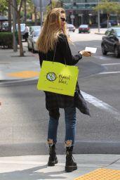 Behati Prinsloo - Shopping in Los Angeles 09/25/2018