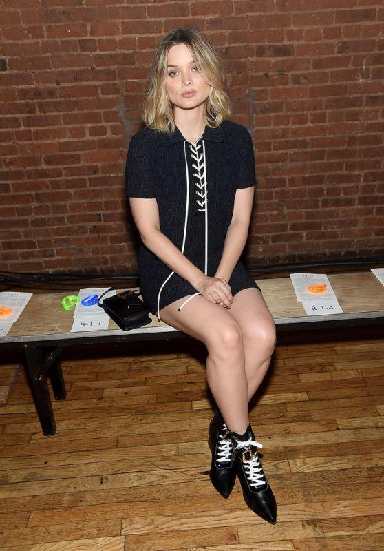 Bella Heathcote – Adeam Show at NYFW 09/08/2018