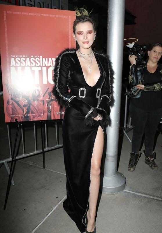 """Bella Thorne – """"Assassination Nation"""" Premiere in LA"""